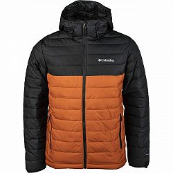 Columbia POWDER LITE HOODED JACKET  L - Pánska bunda
