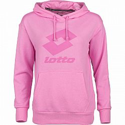Lotto SMART W II SWEAT HD FT ružová M - Dámska mikina